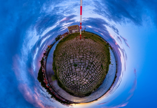 Lauenburg Elbe Little Planet Panorama 4